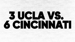 (3) UCLA vs. (6) Cincinnati