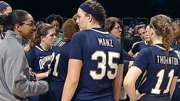 Women's Basketball: Quinnipiac takes down Marquette