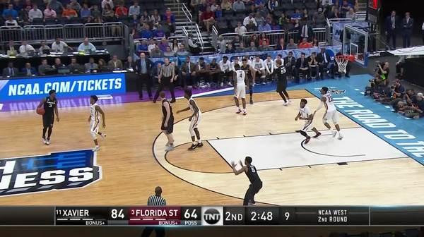 3-pointer by Trevon Bluiett