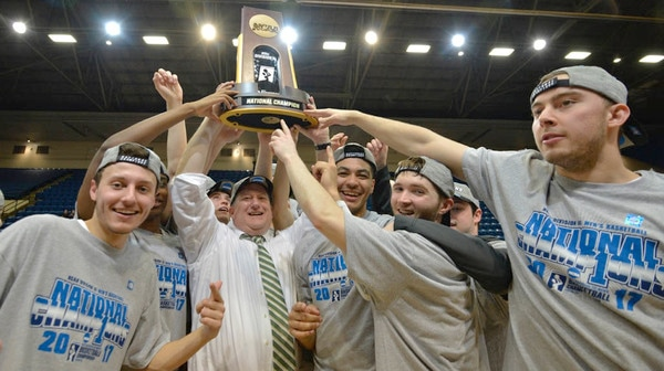 Babson wins the 2017 DIII Men's Basketball Championship