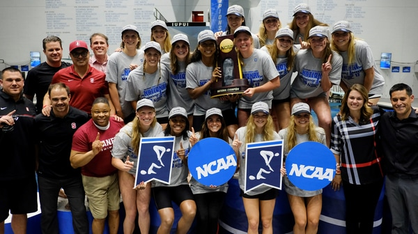 Stanford wins the 2017 DI Women's Swimming and Diving Championship