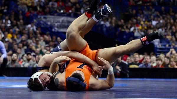 Penn State wins the 2017 DI Wrestling Championship