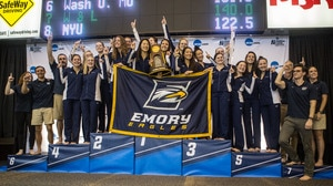 Emory wins the 2017 DIII Women's Championship