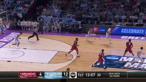 Assist by Joel Berry