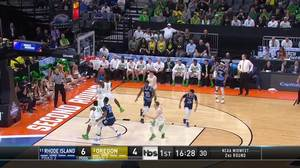 Rhode Island vs. Oregon: 1st Half Highlights