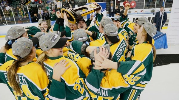 Clarkson wins the 2017 NC Women's Ice Hockey Championship