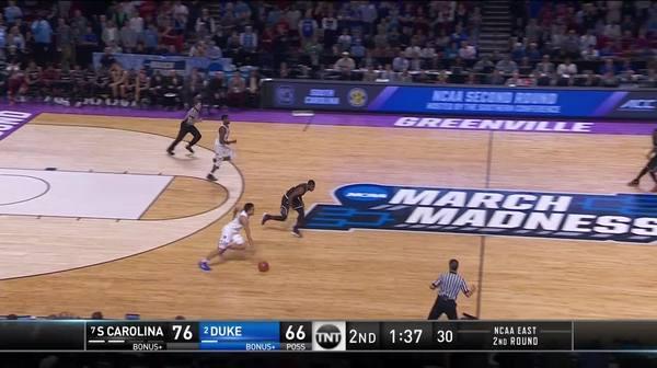 3-pointer by Jayson Tatum
