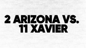 (2) Arizona vs. (11) Xavier