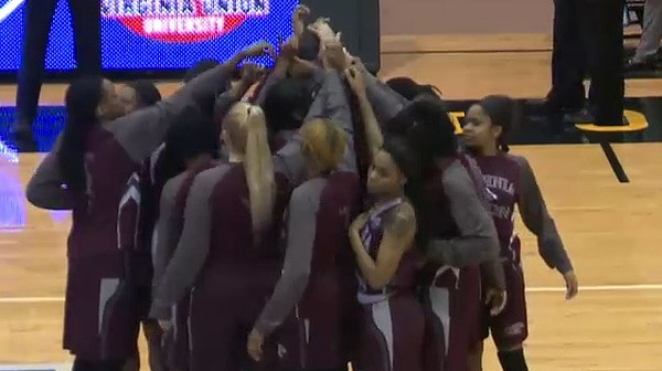 2017 DII Women's Basketball Quarterfinal: Virginia Union vs. Columbus State Full Replay