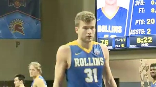 2017 DII Men's Basketball Quarterfinal: Rollins vs. Fairmont State Full Replay