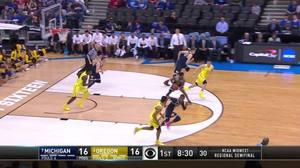 Assist by Derrick Walton