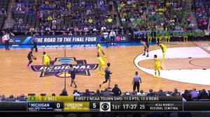 Michigan vs. Oregon: 1st Half Highlights
