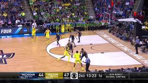 3-pointer by Dillon Brooks