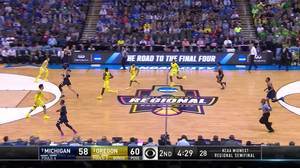 3-pointer by Derrick Walton