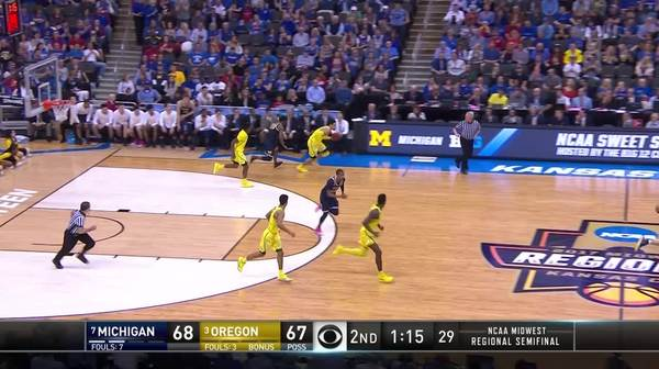 2-pointer by Tyler Dorsey