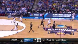 2-pointer by Devonte' Graham