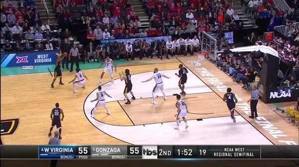 3-pointer by Jevon Carter