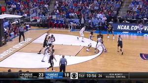 Purdue vs. Kansas: 1st Half Highlights