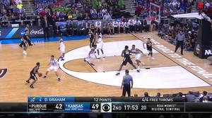3-pointer by Caleb Swanigan