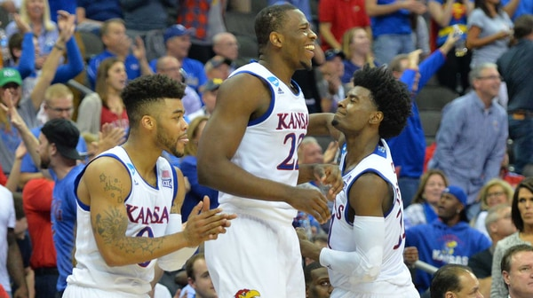Sweet 16: Kansas stomps Purdue