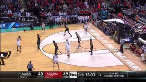 3-pointer by Allonzo Trier