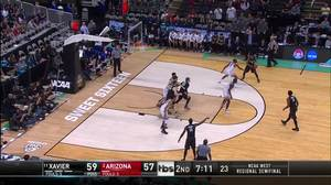 2-pointer by Trevon Bluiett