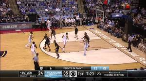 3-pointer by Justin Jackson