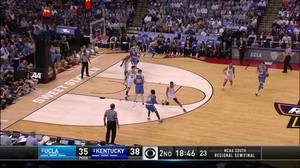 Dunk by De'Aaron Fox