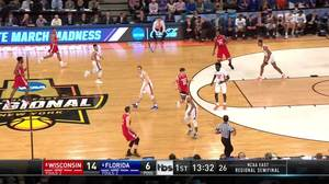 Wisconsin vs. Florida: 1st Half Highlights