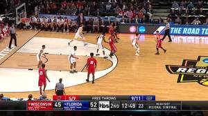 3-pointer by Bronson Koenig