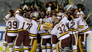 DI Men's Hockey: Bulldogs bounce Buckeyes