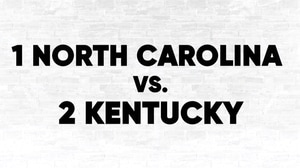 (1) UNC vs. (2) Kentucky