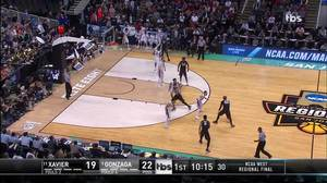 Assist by Trevon Bluiett