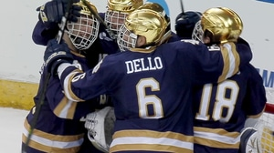 DI Men's Hockey: Irish top Gophers