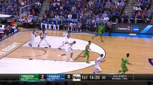 3-pointer by Lagerald Vick