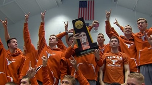 Texas wins the 2017 DI Men's Swimming and Diving Championship