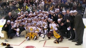 DI Men's Hockey: Minnesota Duluth skates...