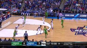 Oregon vs. Kansas: 1st Half Highlights
