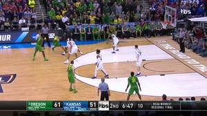 3-pointer by Tyler Dorsey