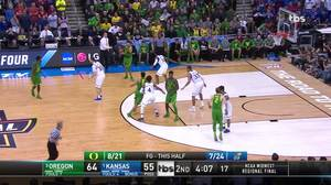 Assist by Jordan Bell