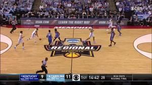 Kentucky vs. North Carolina: 1st Half Highlights