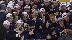 DI Men's Hockey: Notre Dame advances to Frozen Four