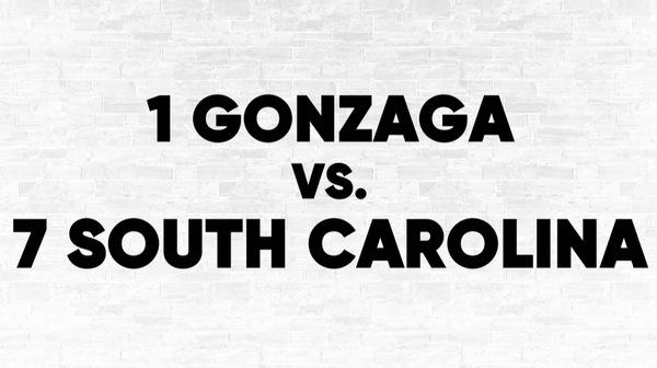 Bracket Breakdown: (1) Gonzaga vs. (7) South Carolina