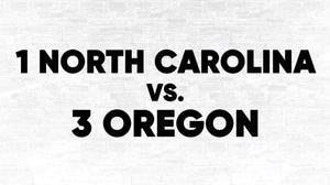 (1) UNC vs. (3) Oregon