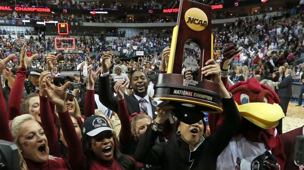 South Carolina's title moments