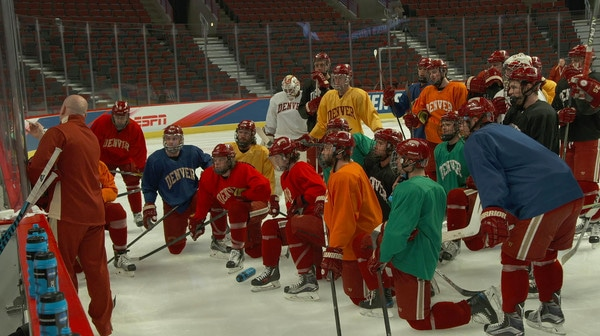 Frozen Four: On the ice with Denver