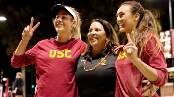 Beach Volleyball: April Ross back at USC