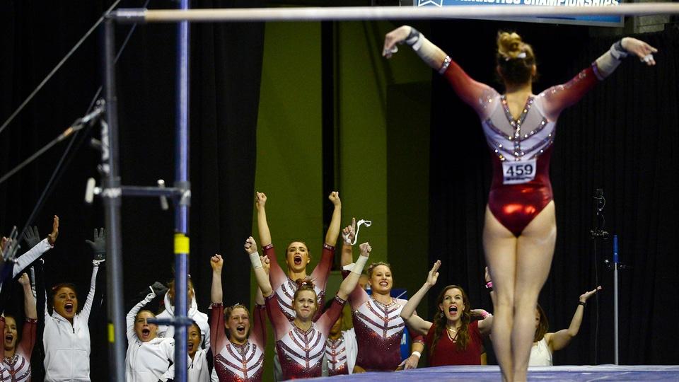 Women S Gymnastics Oklahoma Wins The National Championship
