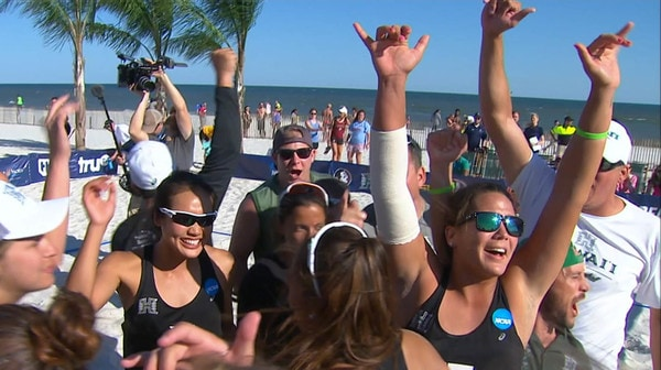 2017 Beach Volleyball Championship: Day Two