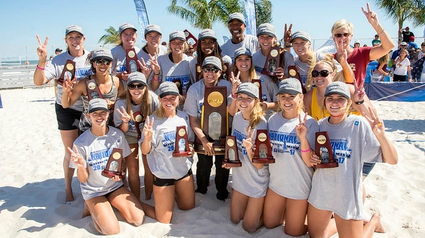 Beach Volleyball Championship: USC Wins Second Straight Title